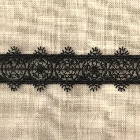 Medaillon Guipure, col. Black