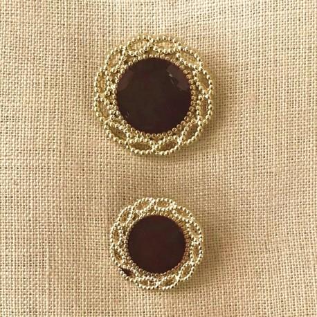 Metal Button Eugénie, col. Gold/ Hermès