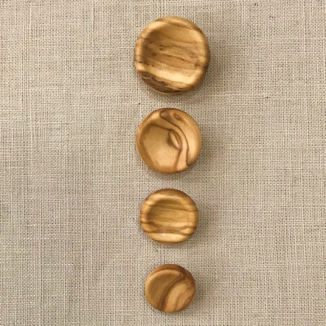Olive Tree Wood Blazer Button