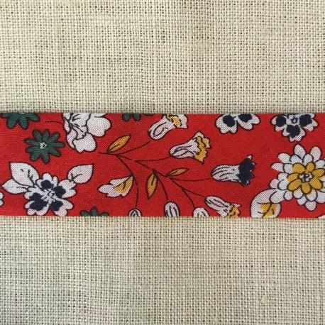 Flowery Bias, Col. Azur, Laurel, Coral