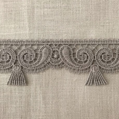 Gatsby Ribbon Lace, col. Pebble