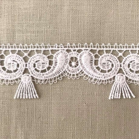 Gatsby Ribbon Lace, col. Snow