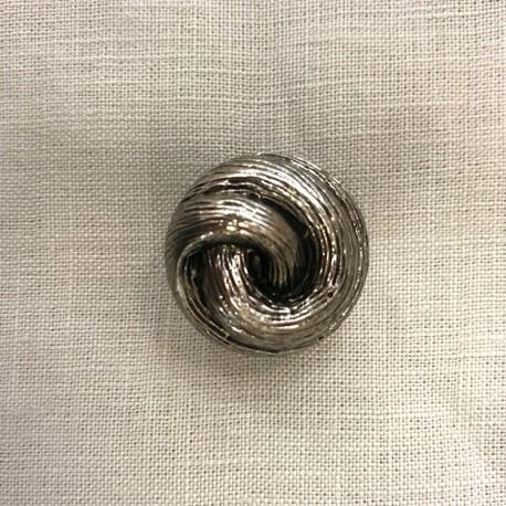 Mignardise Button, col. Silver